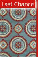 Rugstudio Sample Sale 112842R Teal Area Rug