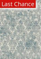 Rugstudio Sample Sale 141801R Ivory - Blue Area Rug