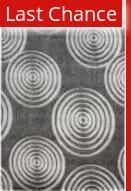 Linon Milan Mn21 Black / Grey Area Rug