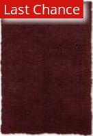Linon New Flokati 1400 Grams Burgundy Area Rug