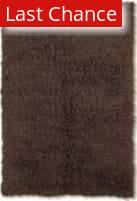 Linon New Flokati 1400 Grams Cocoa Area Rug