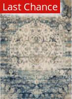 Rugstudio Sample Sale 125625R Blue - Ivory Area Rug