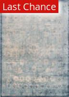 Rugstudio Sample Sale 146336R Light Blue - Ivory Area Rug