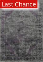 Rugstudio Sample Sale 113421R Pewter / Purple Area Rug