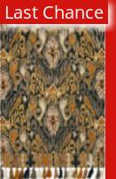 Rugstudio Sample Sale 158159R Charcoal - Khaki Area Rug