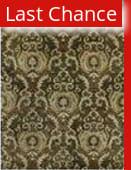Rugstudio Sample Sale 37811R Dark Olive Area Rug