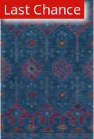 Rugstudio Sample Sale 163012R Blue - Plum Area Rug