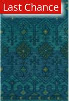 Rugstudio Sample Sale 163013R Green - Teal Area Rug