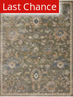 Rugstudio Sample Sale 220024R Sage - Gold Area Rug