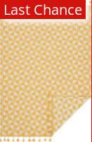 Rugstudio Sample Sale 163031R Yellow - Ivory Area Rug