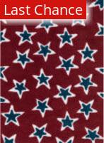 Rugstudio Sample Sale 141179R Red - Navy Area Rug