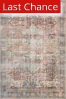 Rugstudio Sample Sale 186148R Brick - Multi Area Rug