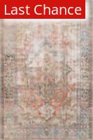 Rugstudio Sample Sale 186149R Terracotta - Sky Area Rug