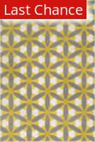 Rugstudio Sample Sale 102611R Grey / Citron Area Rug