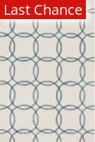 Rugstudio Sample Sale 125736R Ivory - Blue Area Rug