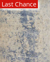 Rugstudio Sample Sale 181662R Beige - Blue Area Rug