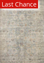 Rugstudio Sample Sale 199668R Light Blue - Multi Area Rug