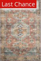 Rugstudio Sample Sale 206694R Terracotta - Sky Area Rug