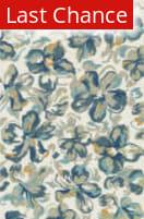 Rugstudio Sample Sale 102664R Ivory / Floral Area Rug