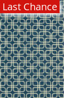 Rugstudio Sample Sale 92331R Blue / Ivory Area Rug
