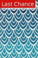 Rugstudio Sample Sale 113878R Blue / Multi Area Rug