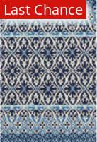 Rugstudio Sample Sale 181671R Blue - Ivory Area Rug
