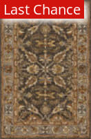 Rugstudio Sample Sale 158183R Dark Taupe - Grey Area Rug