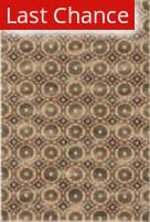 Rugstudio Sample Sale 113895R Ivory / Rust Area Rug
