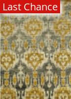 Rugstudio Sample Sale 92344R Grey / Gold Area Rug