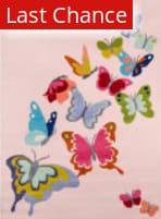 Rugstudio Sample Sale 161382R Pink Area Rug