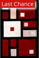 Rugstudio Sample Sale 161526R Black Area Rug