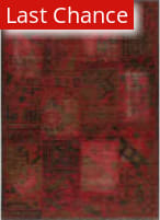 Rugstudio Sample Sale 162595R Raspberry Area Rug