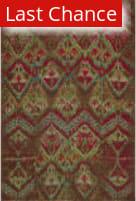 Rugstudio Sample Sale 162609R Raspberry Area Rug