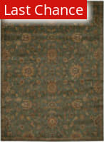 Rugstudio Sample Sale 123710R Teal Area Rug