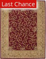 Rugstudio Sample Sale 23118R Burgundy Area Rug