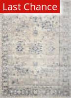 Rugstudio Sample Sale 162855R Ivory - Blue Area Rug