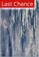 Rugstudio Sample Sale 192181R Blue - Cream Area Rug