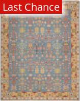 Rugstudio Sample Sale 110530R Blue Area Rug