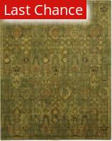 Rugstudio Sample Sale 125035R Green Gold Area Rug