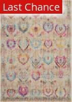Rugstudio Sample Sale 200229R Ivory - Multicolor Area Rug