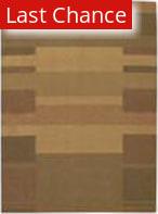 Calvin Klein Loom Select CK-11 Block Profile LS-02 Gold Area Rug