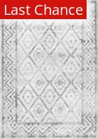 Nuloom Vintage Trellis Lynell Grey Area Rug
