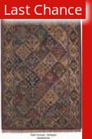 ORG Handtufted Panel Kerman Antiqued Area Rug