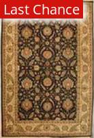 ORG Jaipur OM-1 Black-Gold Area Rug