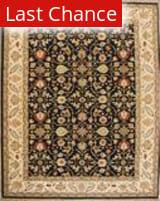 ORG Indo-Persian 908 Black-Beige Area Rug