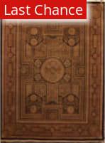 ORG Persian Classics GC74 Black Red Area Rug