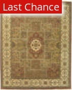 ORG Persian Classics Gc19 Brown-Beige Area Rug