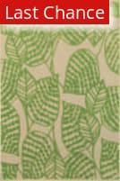 Rugstudio Sample Sale 167443R Sand - Green Area Rug