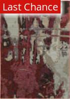 Rugstudio Sample Sale 167475R Red - Beige Area Rug