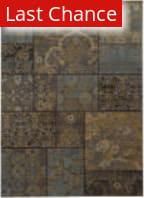 Rugstudio Sample Sale 122254R Charcoal / Blue Area Rug